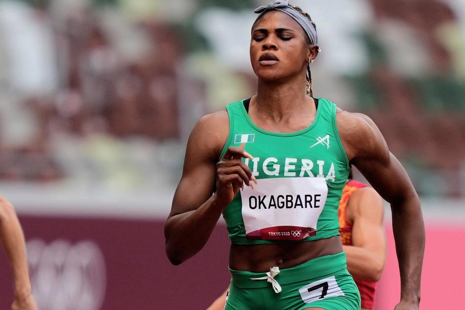 Blessing Okagbare (32) ist bei einer Dopingkontrolle positiv auf das menschliche Wachstumshormon getestet worden.
