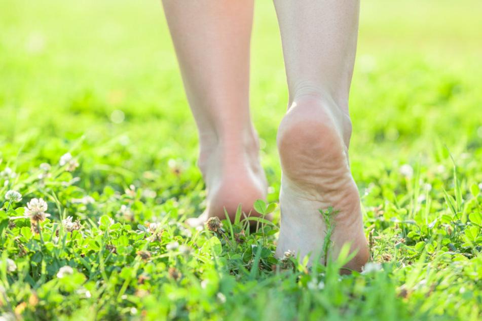 Mit einem Hauch von Nichts spazierte am Dienstag eine 56-Jährige durch Sonneberg. Sie wollte nackt die Natur genießen. (Symbolfoto)