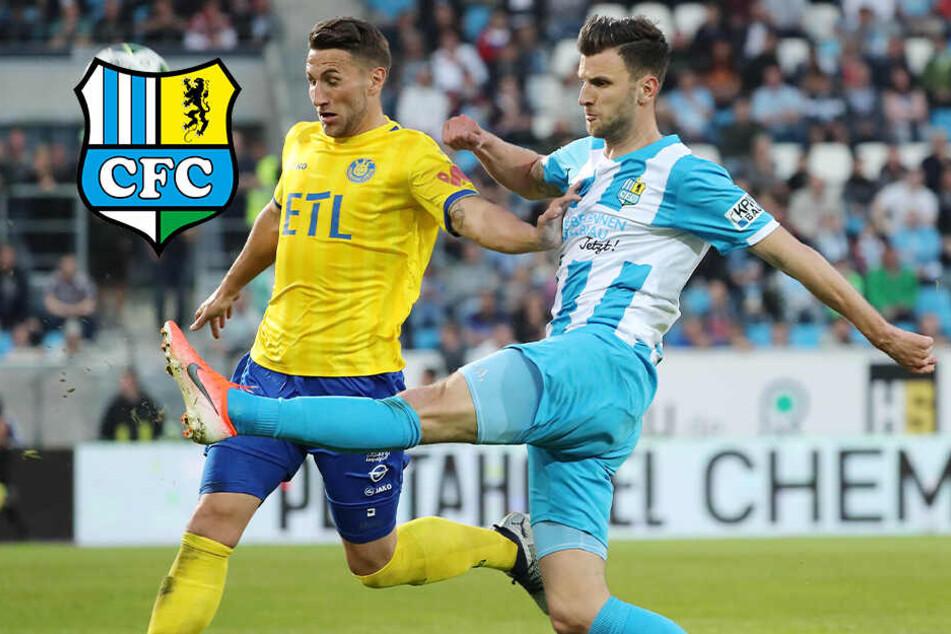 Frust wegen Gelb-Sperre: CFC-Torjäger Bozic verpasst das Sachsenpokal-Finale!