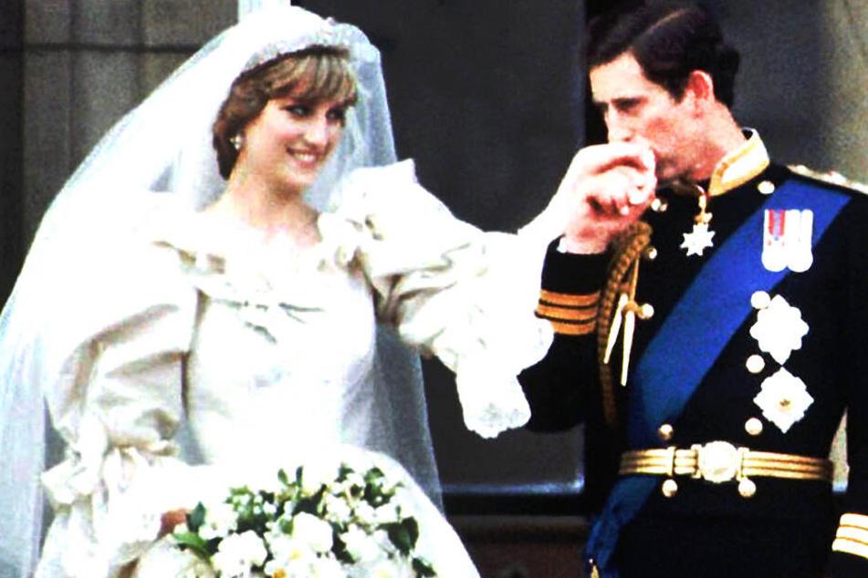 1981 heirateten Lady Diana (links) und Prince Charles.