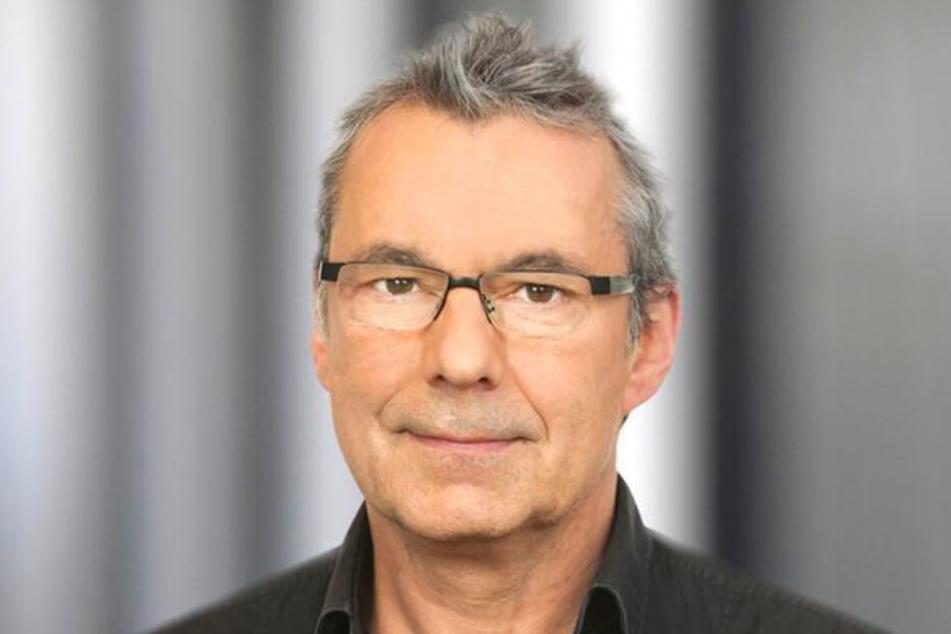 Wolfgang Heim verabschiedete sich am Freitag von seinem verstorbenen Kollegen.