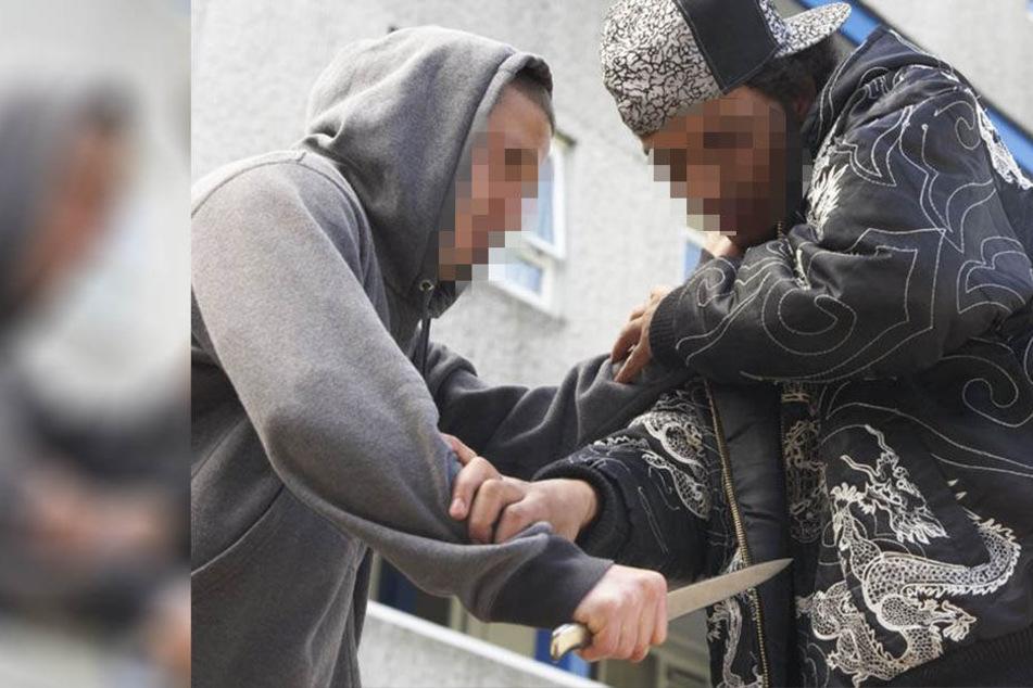 Ein Streit zwischen drei Teenagern aus Afghanistan und Marokko eskalierte auf dem Naumburger Markt. (Symbolbild)
