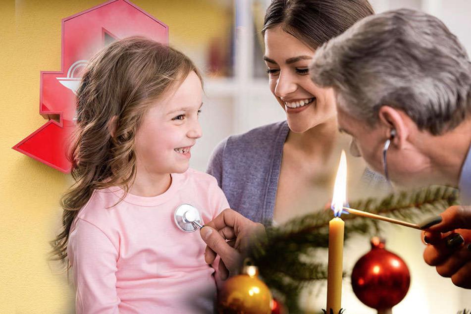 Notfall zum Fest: Diese Dresdner Ärzte behandeln zu Weihnachten