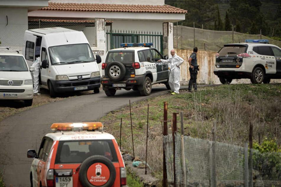 Am Mittwoch wurden die Leichen der Mutter (39) und eines ihrer Söhne (10) in einer Höhle auf der Ferieninsel Teneriffa gefunden.