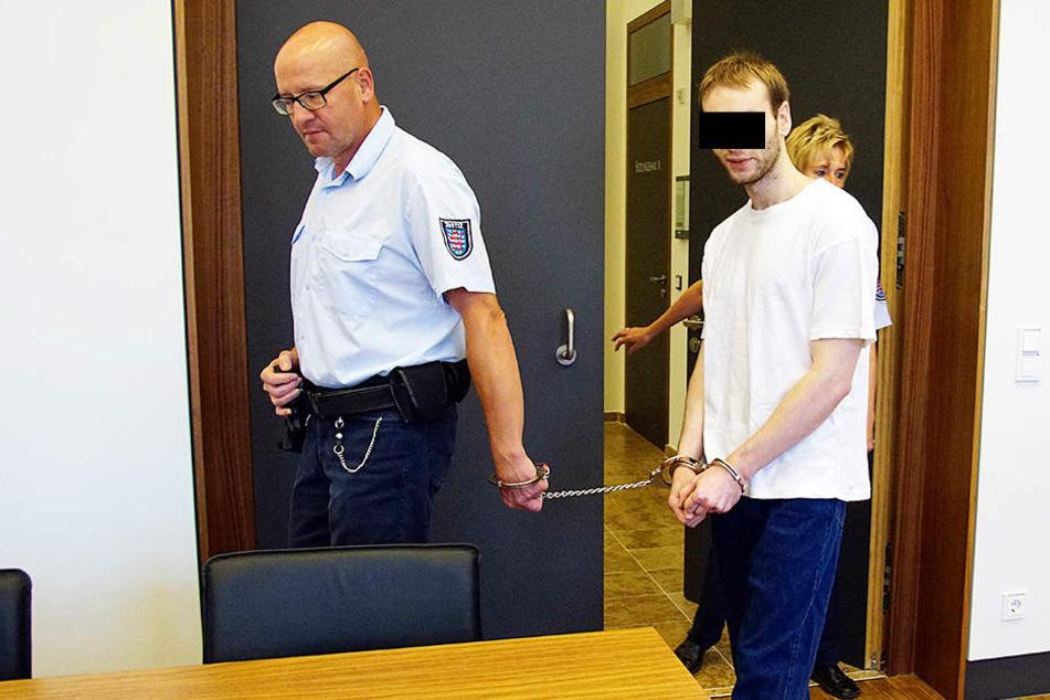 Maik H. (25) wurde zu dreieinhalb Jahren Haft verurteilt.