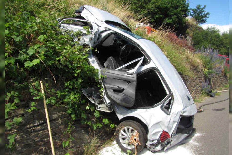 Der Wagen machte sich selbstständig.