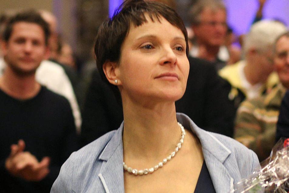 Eine Gruppe innerhalb der AfD fordert die Neuwahl des Bundesvorstands und damit den Sturz von Frauke Petry (41).