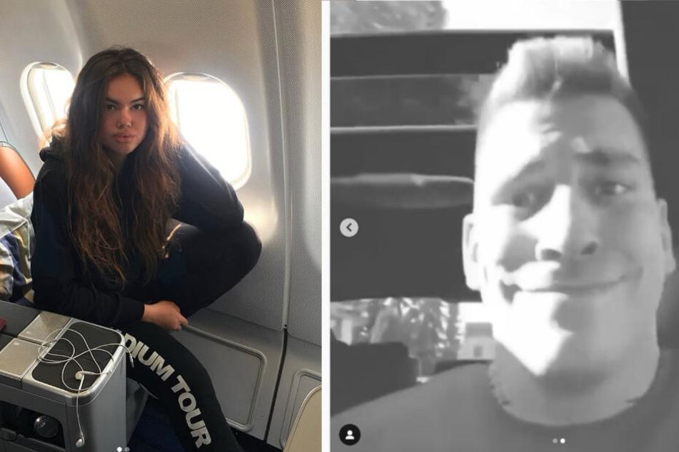 Carolina postete das Video von Gzuz, das wiederum Usher in seiner Story erwähnte.