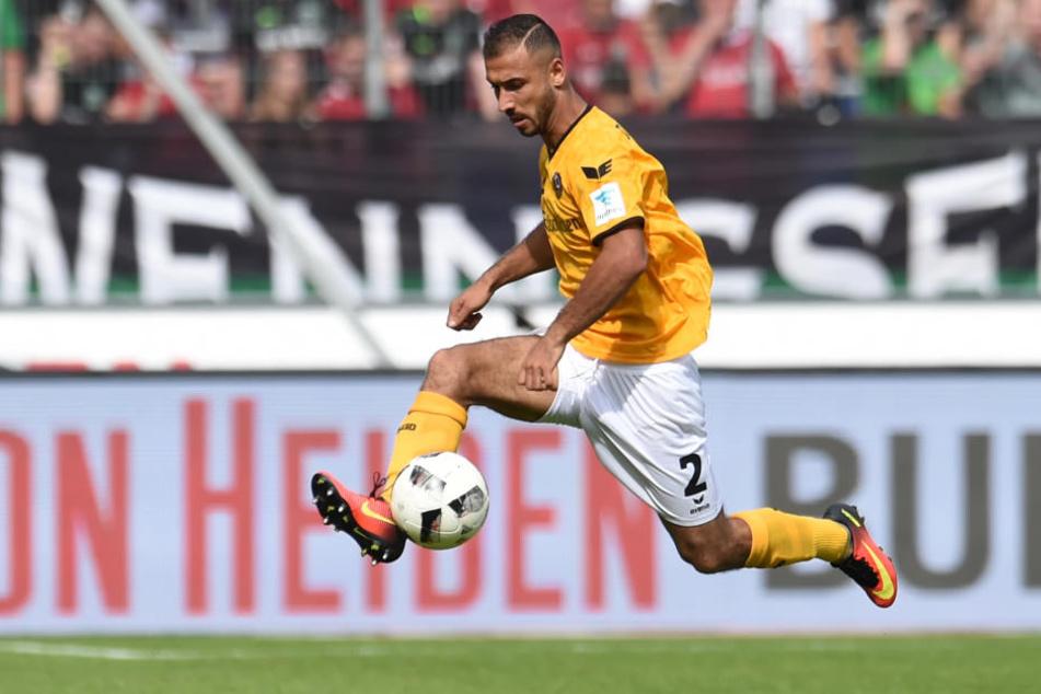 Nach seinem starken Startelf-Debüt gegen Hannover läuft Neuzugang Akaki Gogia gegen Aue erstmals vor heimischer Kulisse von Beginn an auf.