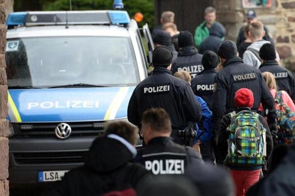 Die Polizei konnte den Mann inzwischen festnehmen. (Symbolbild)