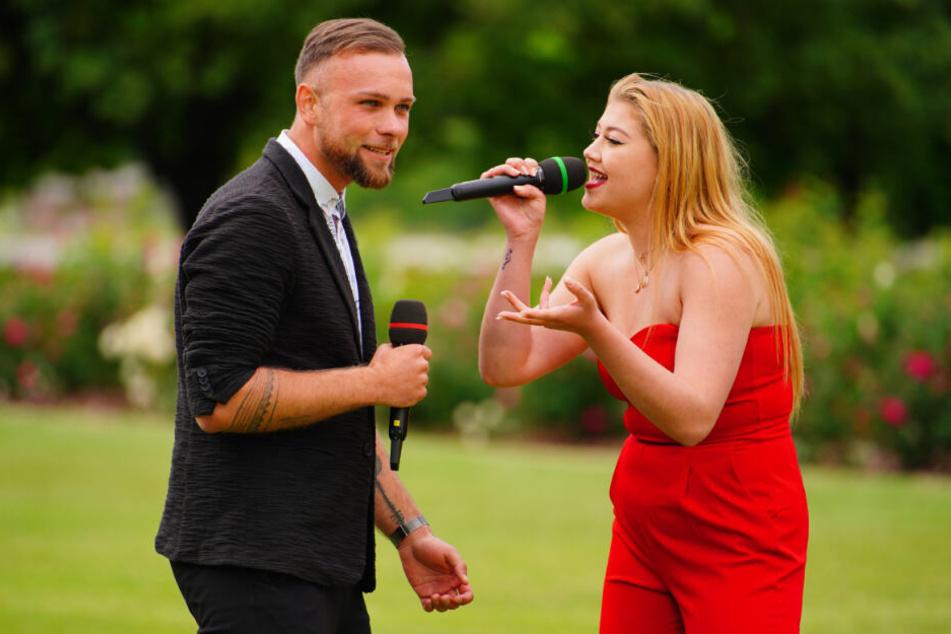 Im Recall trat Katja gemeinsam mit Joshua Tappe an.