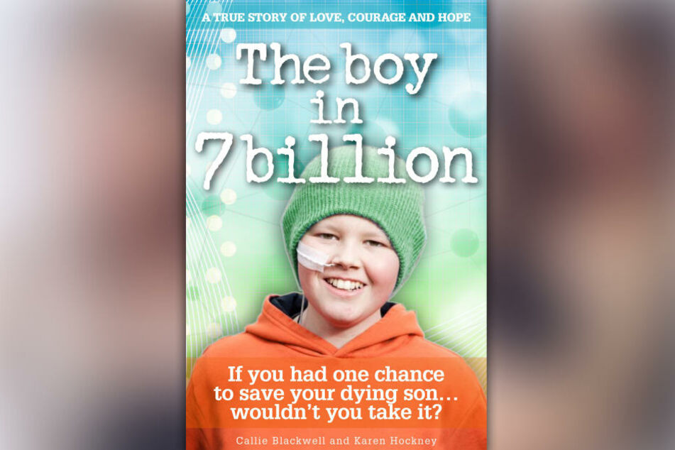 """In dem Buch """"The boy in Seven Billion"""" schrieb seine Mutter nun seine Geschichte nieder."""