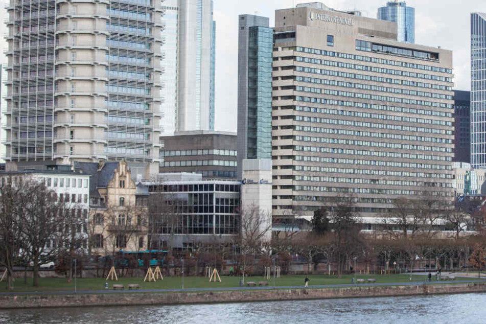 Das Intercontinental in Frankfurt liegt direkt am Mainufer.