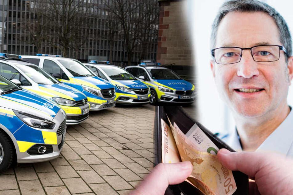 Rainer Pannenbäcker, Direktor des Landesamtes für Zentrale Polizeiliche Dienste NRW.
