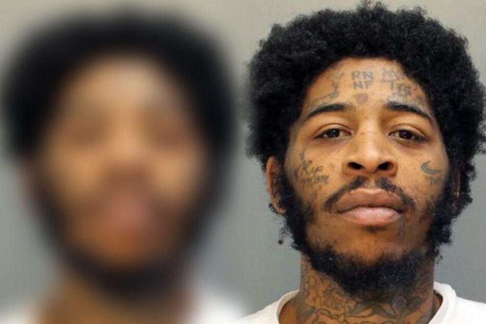 Auf Nafes Monroes Auto wurde geschossen, weil er Drogen mit Falschgeld bezahlt haben soll.