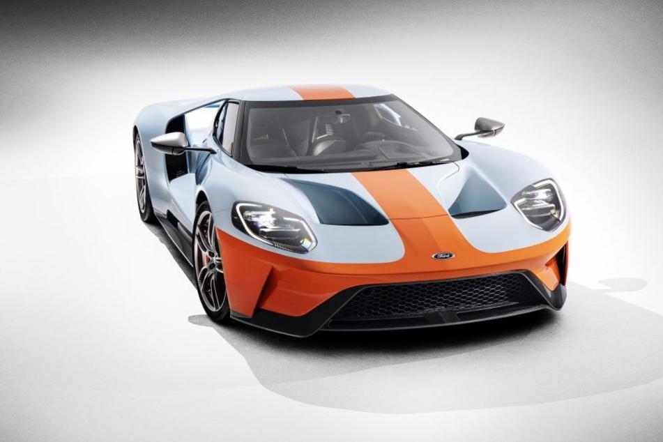 Ford will weltweit bis 2022 insgesamt 1350 Exemplare des GT ausliefern.