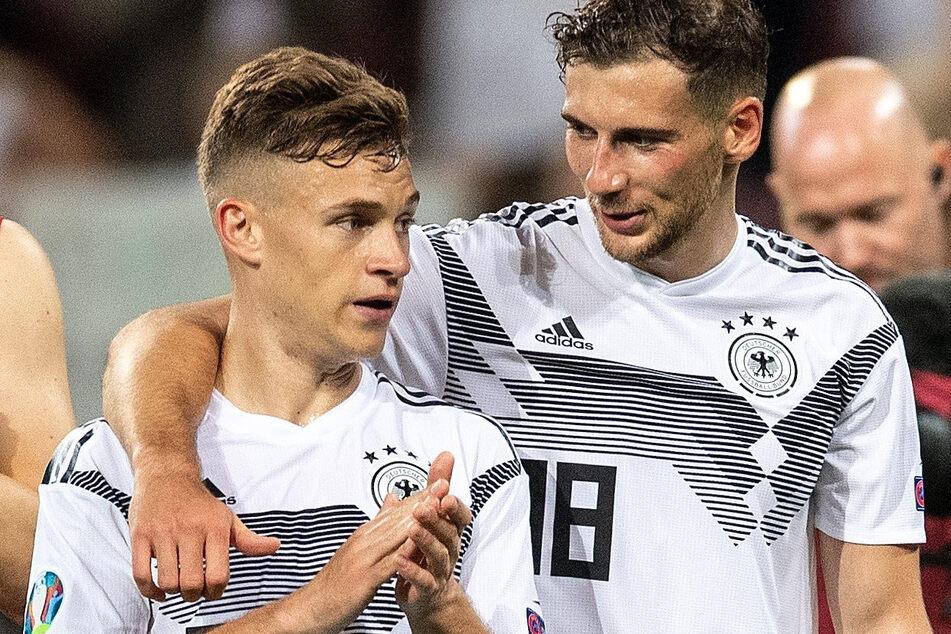 """Die deutschen Fußball-Nationalspieler Leon Goretzka und Joshua Kimmich haben mit ihrer Hilfsaktion """"We kick Corona"""" die Fünf-Millionen-Euro-Marke übertroffen."""