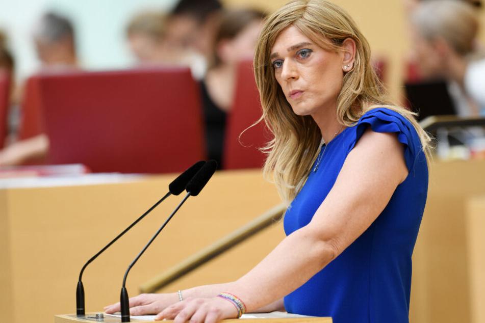 Tessa Ganserer von den Grünen ist Mitglied des Landtags im Freistaat Bayern.