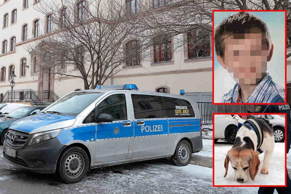 Suche nach vermisstem 12-Jährigen: Polizei setzt Spürhund ein