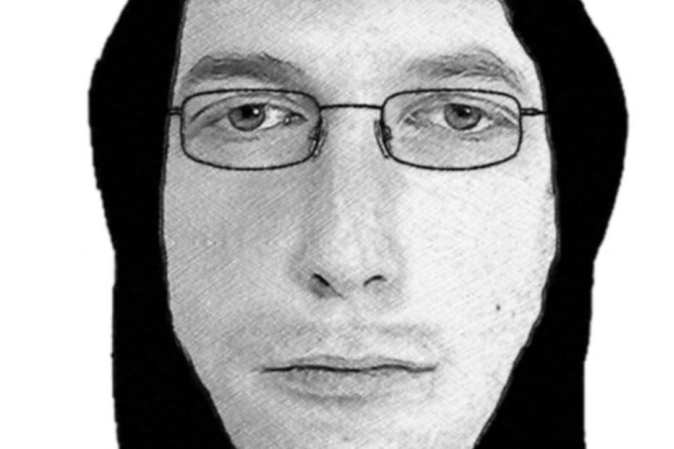Mit diesem Fahndungsbild sucht die Polizei den Täter.