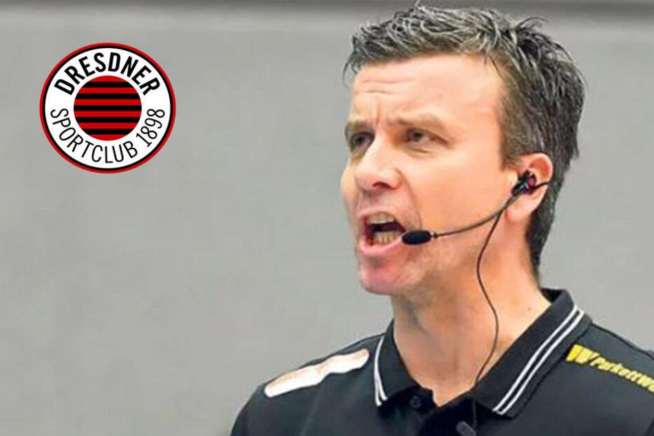 """DSC-Coach Waibl nach 0:3-Pleite in Vilsbiburg: """"jetzt gilt es, Ruhe zu wahren!"""""""