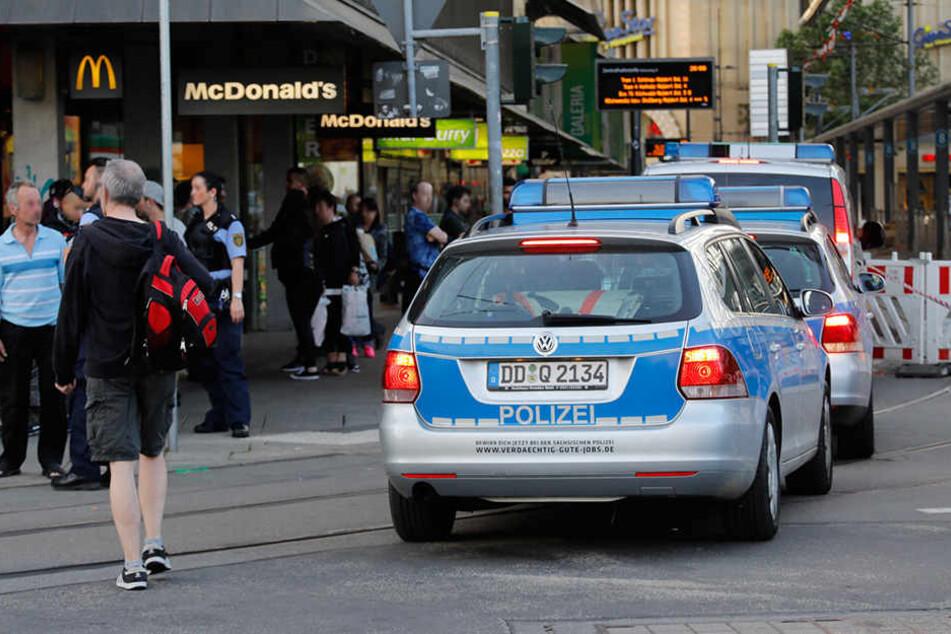Die Polizei wurde am Donnerstag zu einer Prügelei an die Zenti gerufen. (Archivbild)