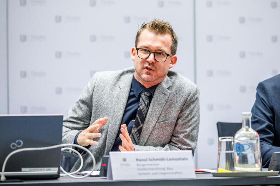 Baubürgermeister Raoul Schmidt-Lamontain (43, Grüne) hat die Regelungen erarbeitet.