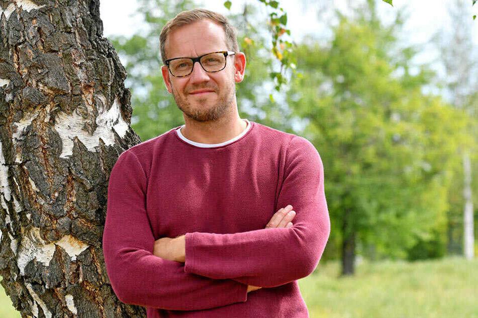 Lars Röher (38) ist im Dresdner Kulturhauptstadtbüro für Veranstaltungen zuständig.