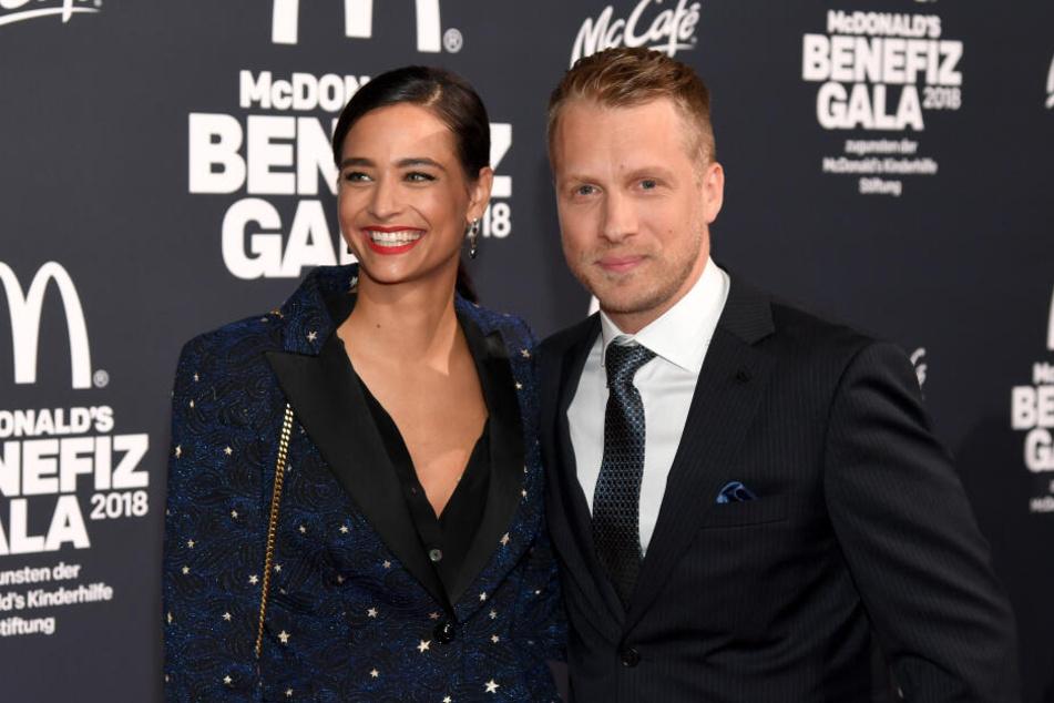 Oliver Pocher und seine Frau Amira.