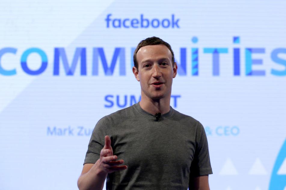 Facebook-Chef Mark Zuckerberg äußerte sich jetzt erstmals zum Skandal. (Archivbild)
