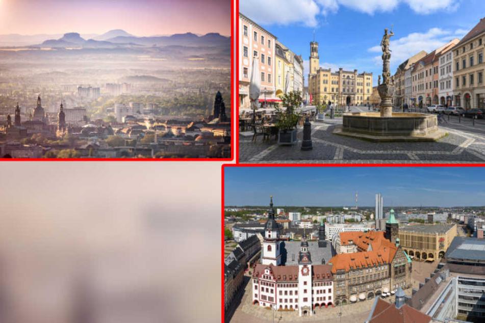 Kulturhauptstadt: Chemnitz, Dresden und Zittau gehen für 2025 ins Rennen