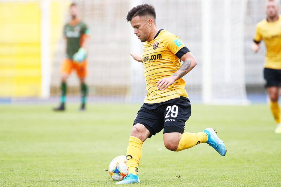 Dynamo-Dribbler Sascha Horvath gehörte im Test beim 1. FC Union Berlin zu den besten SGD-Spielern. (Archivbild)