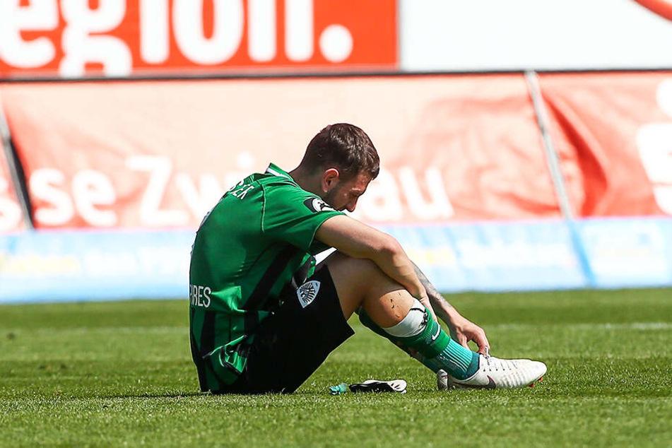 Kevin Pires Rodrigues ist mit dem SC Preußen Münster nach sechs sieglosen Liga-Spielen in Folge auf den 18. Platz abgerutscht.