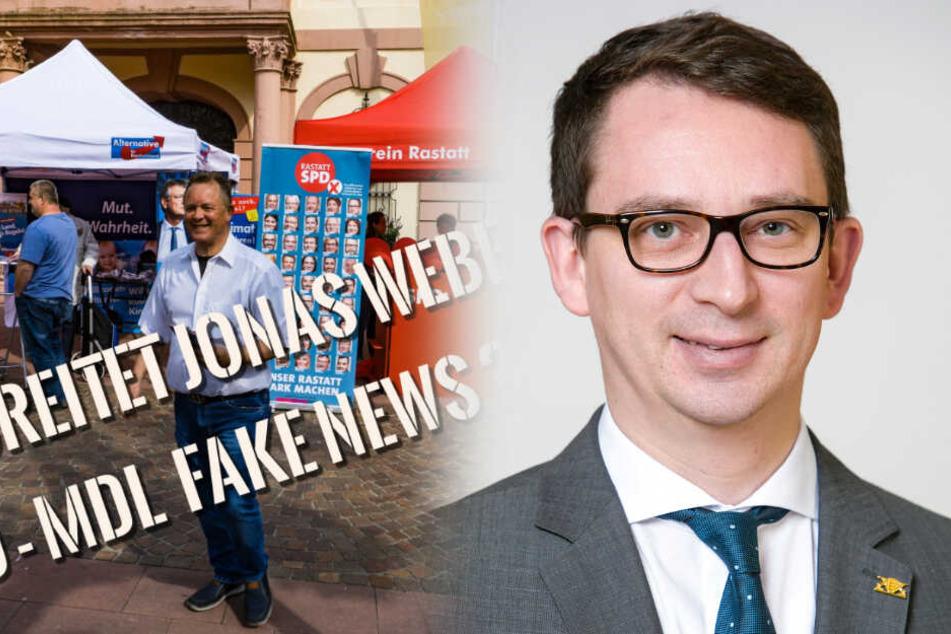 SPD- und AfD-Kandidaten geraten am Wahlstand heftig in Streit!