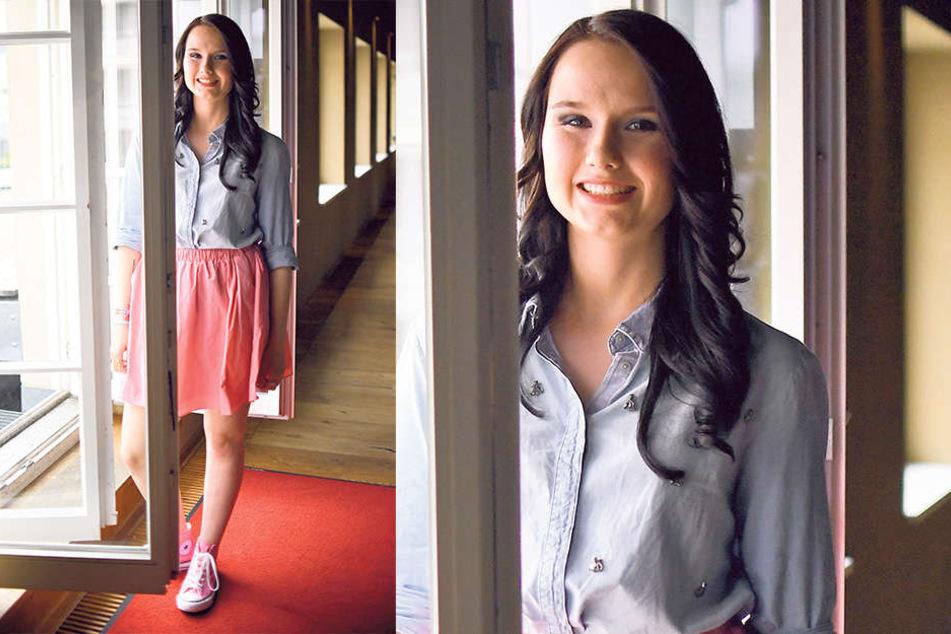 Kaum wiederzuerkennen: So sieht Jamie-Lee Kriewitz (19) heute aus.  Sie ist glücklich mit ihrer Musik und kann derzeit gut davon leben.