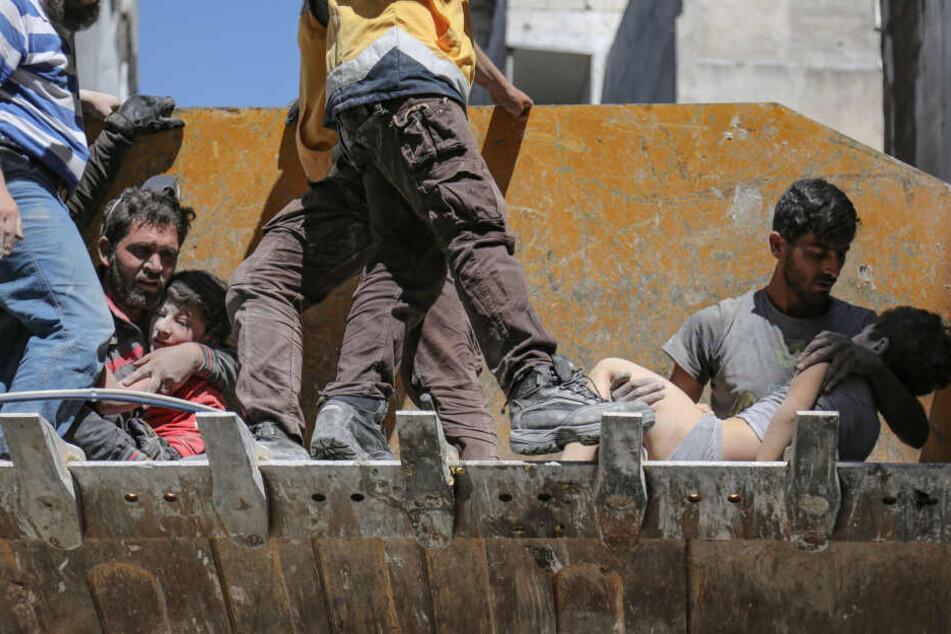 Was Kinder in Syrien an Gräueltaten miterleben müssen, ist laut den Hilfsorganisationen unbeschreiblich. (Archivbild)
