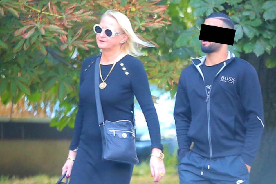 Mustafa K. mit seiner Anwältin Katja Reichel.
