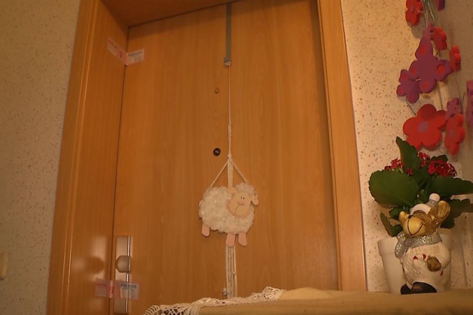 In dieser Wohnung wurden die zwei Babyleichen entdeckt.