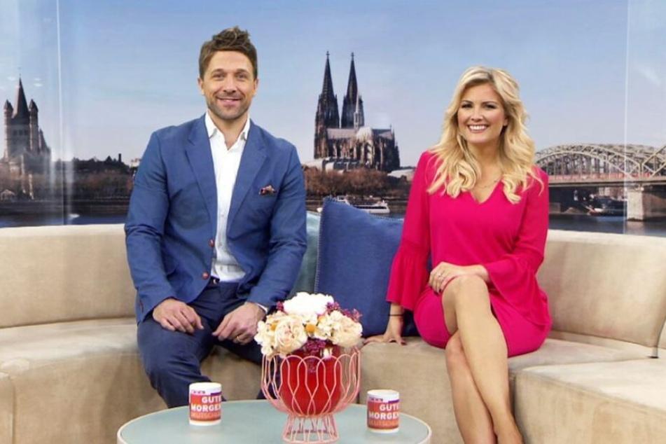 Florian Ambrosius (43) und Jennifer Knäble (38) werden bald nicht mehr zusammen moderieren.