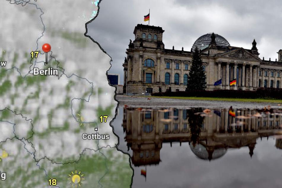 Sommer-Pause in Berlin und Brandenburg: Kühler und grauer Wochenstart