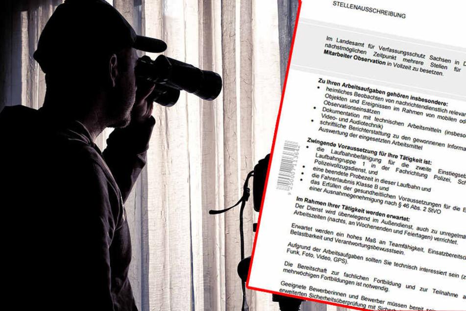 In Sachsen werden Spione jetzt ganz öffentlich gesucht