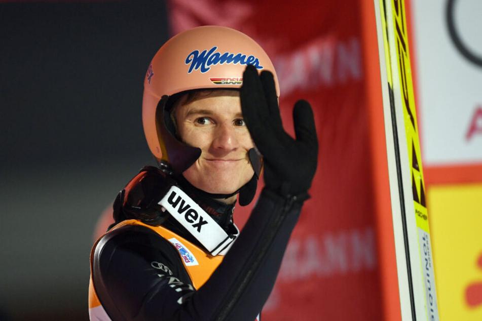 Karl Geiger genügte ein fünfter Platz.