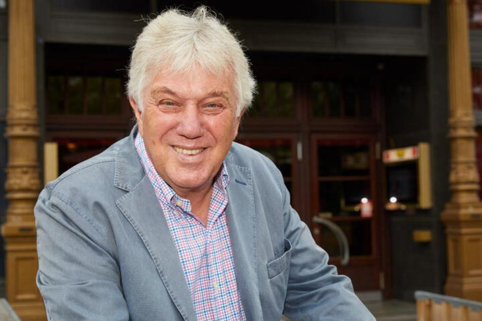 """Rolf Zuckowski (73) ist bald bei """"Rote Rosen"""" zu sehen - und heute im MDR."""