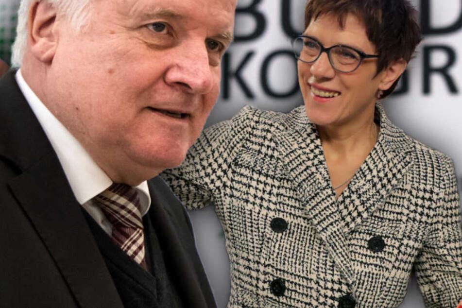 Seehofer erstmals auf Twitter! So reagiert er auf AKK-Wahl