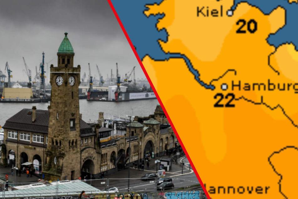 Trübe Aussichten! Sturmtief Yap sorgt für nasse Füße und Sturmböen
