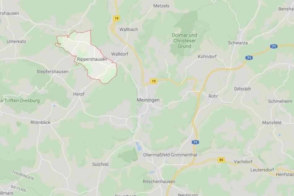 Zwischen Rippershausen und Meiningen ist es zu einem Unfall gekommen.