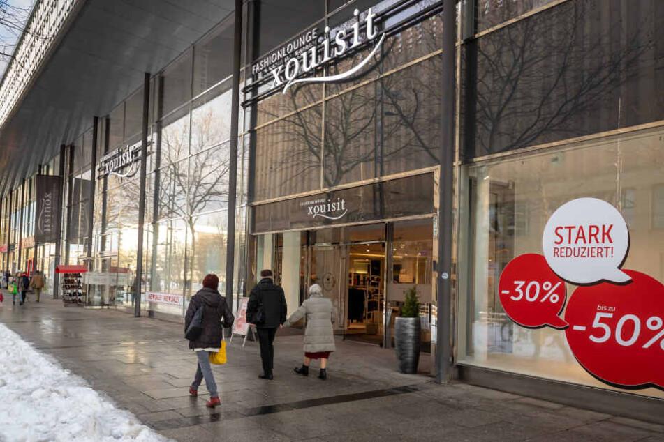 Das Modegeschäft Xquisit schließt Ende Februar. Ein Nachmieter steht noch nicht fest.