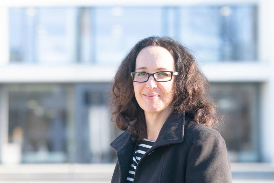 Sonnenstrahl-Vereinschefin Antje Herrmann (44).