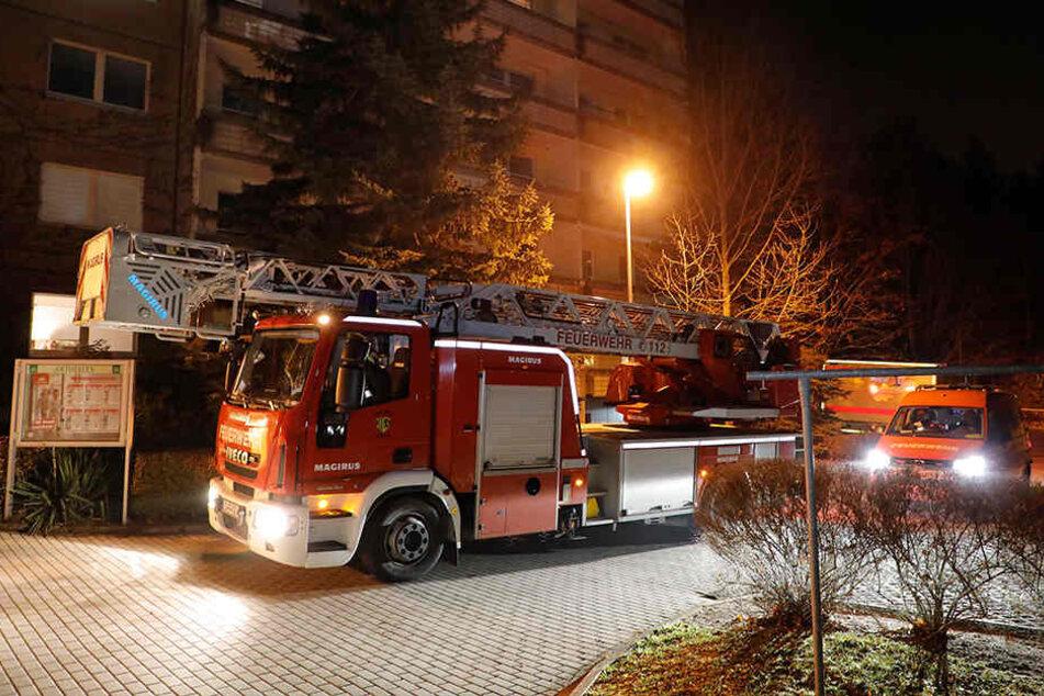 Die Anwohner hatten Glück, die Feuerwehr musste das Haus nicht evakuieren.