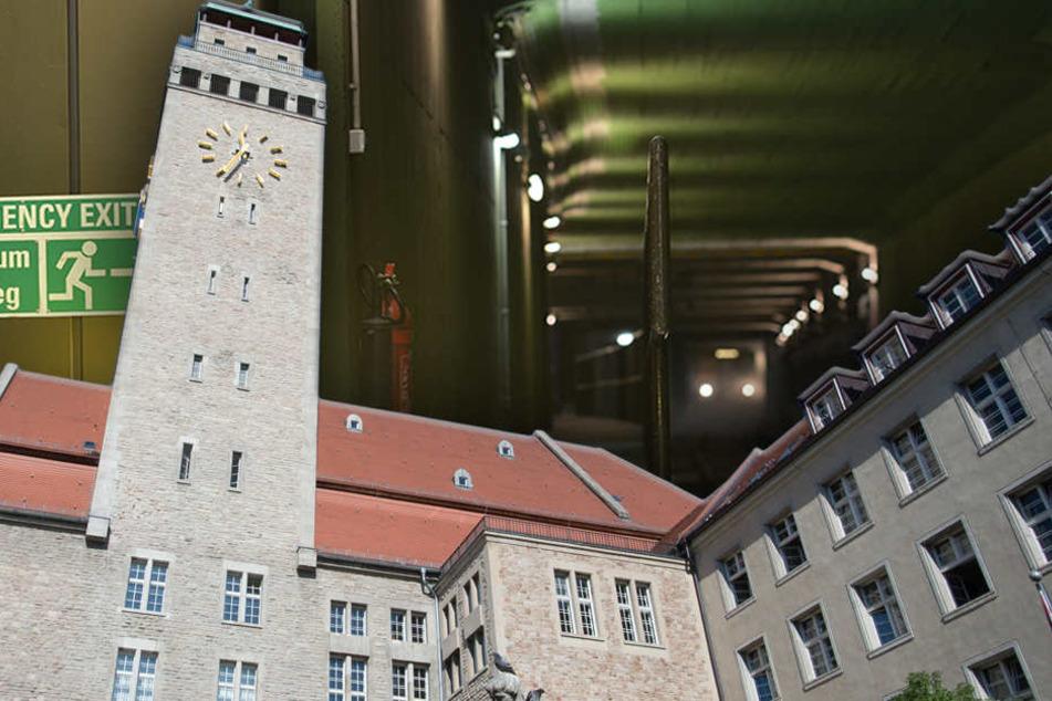 Stillstand auf der U7 in Neukölln, weil sich Handydieb den Tunnel als Fluchtweg ausgesucht hat. (Bildmontage)